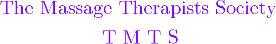 www.themassagesociety.org.uk Logo